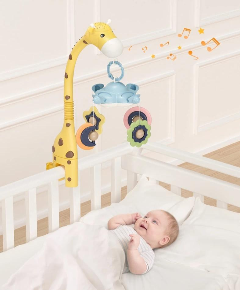 "Crib-side ""Giraffe"""
