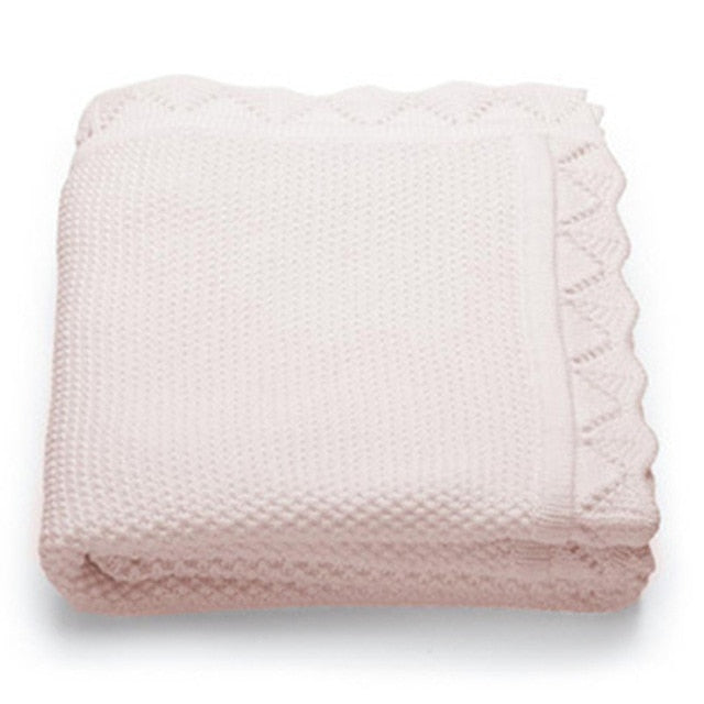Soft Knitted Cotton Blanket