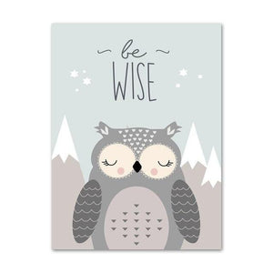 Be Wise Canvas Print