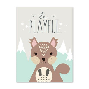 Be Playful Canvas Print