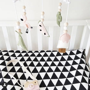 Nordic Handmade Baby Crib Mobile Toy