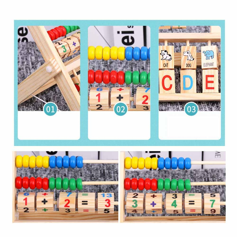 Montessori Counting Toy 'Abacus'