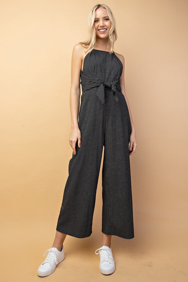 Grid Jumpsuit