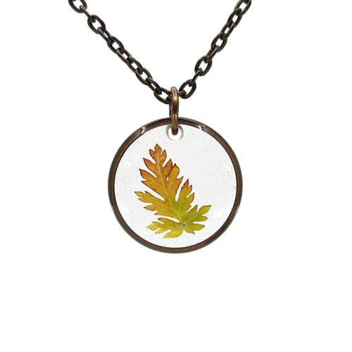Fall Wild Grass Necklace - Luna's Secret Garden