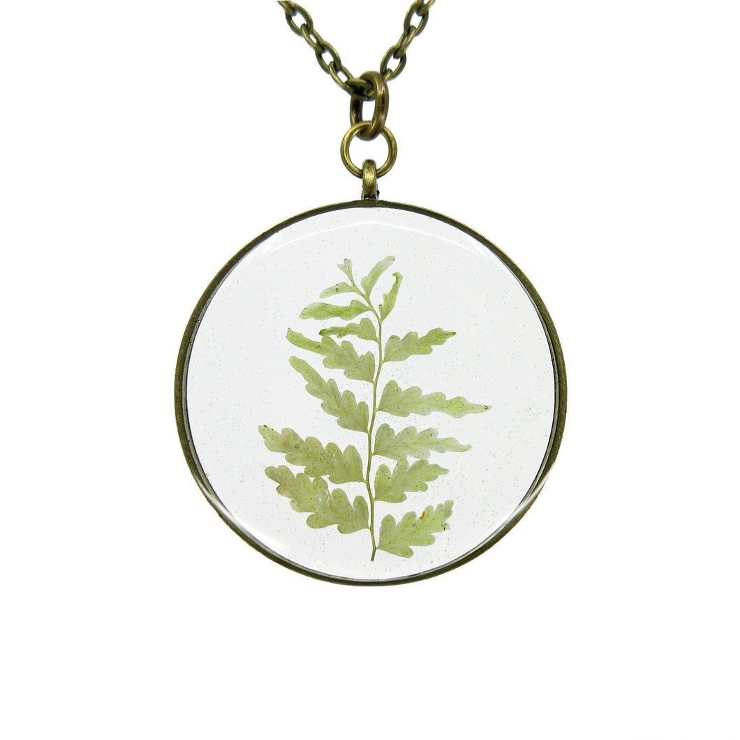 Fern Necklace III - Luna's Secret Garden