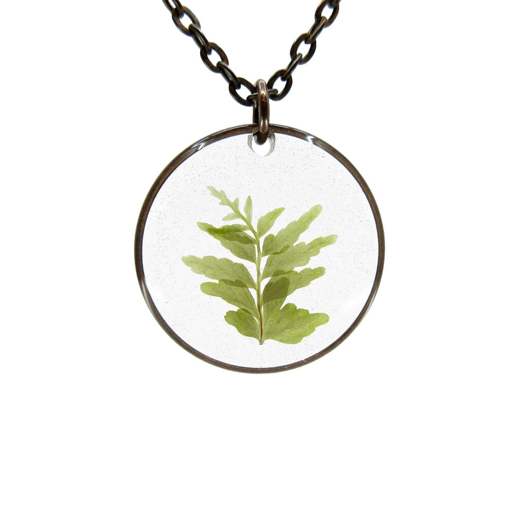 Fern Necklace II - Luna's Secret Garden