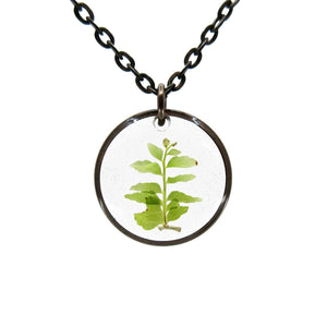 Fern Necklace I - Luna's Secret Garden