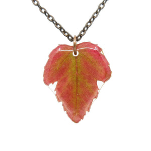 Maple Leaf Necklace - Luna's Secret Garden