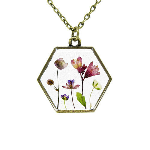 Mini Garden Necklace II - Luna's Secret Garden