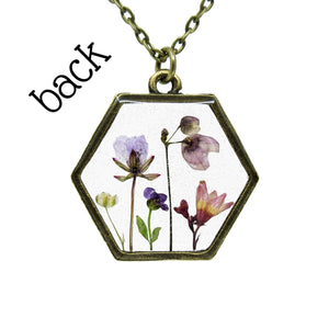 Mini Garden Necklace III - Luna's Secret Garden