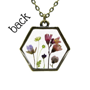 Mini Garden Necklace IV - Luna's Secret Garden