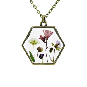 Mini Garden Necklace V - Luna's Secret Garden