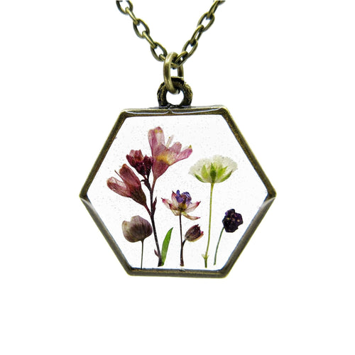 Mini Garden Necklace VII - Luna's Secret Garden