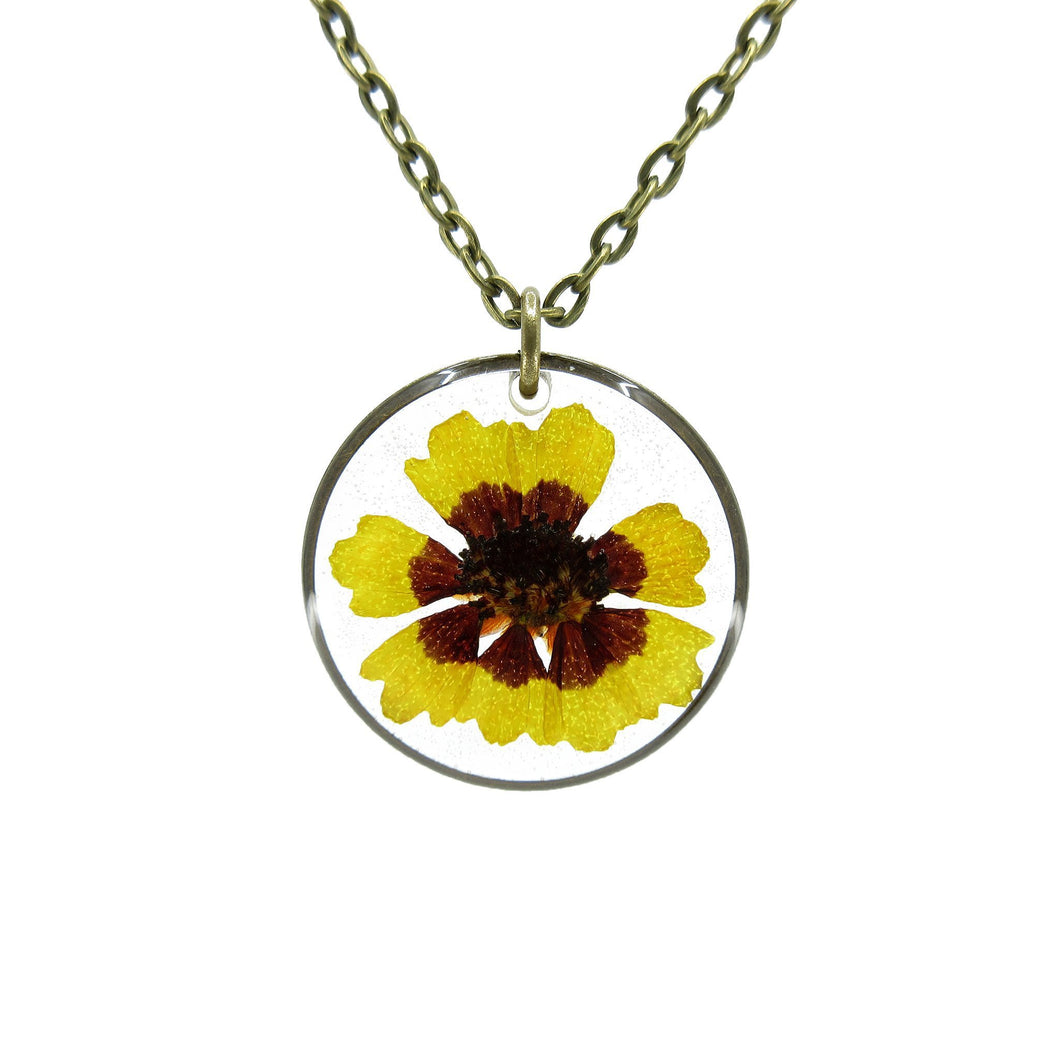 Sunflower Necklace II - Luna's Secret Garden