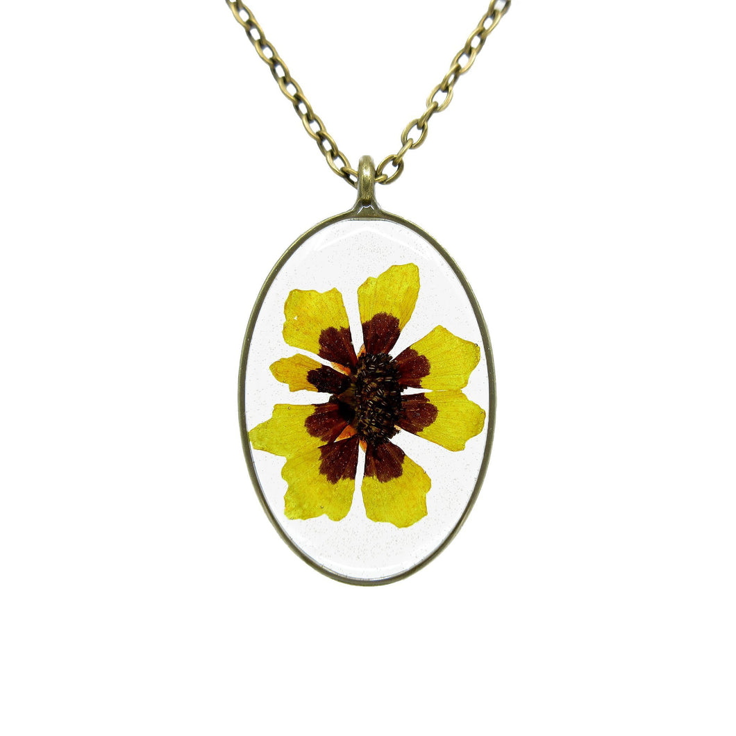 Sunflower Necklace I - Luna's Secret Garden