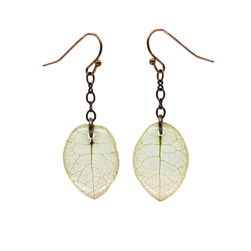 White Bougainvillea Earrings - Luna's Secret Garden
