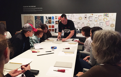 MAY 13: Printmaking Workshop with Yoshiko Yamamoto—MEMBERS