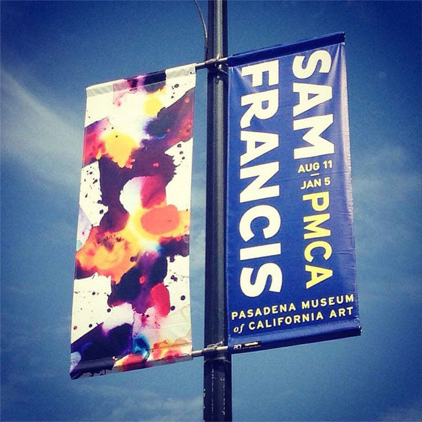 PMCA Sam Francis Pole Banner