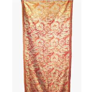 "Fortuny 1920's Hanging in his ""Melagrana"" Pattern with Tulips"