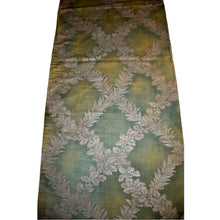 "Fortuny Circa 1910 Cotton Fabric in his ""Crosoni"" Pattern on a Sage Green Ground"