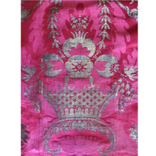 Baroque Flourishes on a 17th Century Italian Silk Damask