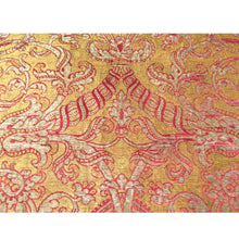 Italian 16th Century Brocade Runner Woven with Silk and Metal Threads
