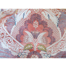 "French 18th Century Silk Brocade Lampas Panel in a ""Lace Pattern"""