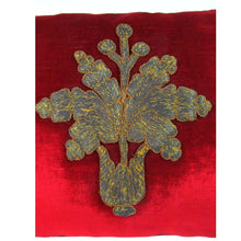 Italian, 17th Century, Metallic Applique of an Oak Leaf