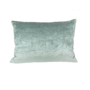 "Mariano Fortuny Vintage Pillow in Cotton ""Orfeo"" Pattern"
