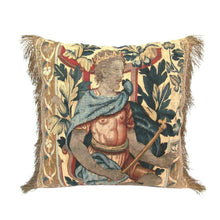 Brussels Tapestry Fragment Pillow of a Prince or King, Baroque Period