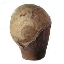 Baroque Wooden Walnut Perruque, Wig, Last with Vellum