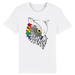 "T-shirt ""Chouette LGBT"" 