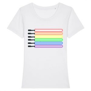 "T-shirt ""Sabres Laser LGBT"" 