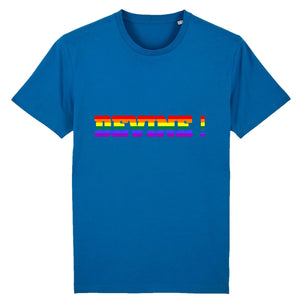 "T-shirt ""DEVINE ! LGBT"" 