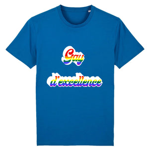 "T-shirt ""Gay D'excellence"" 