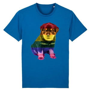 "T-shirt ""Chiot LGBT"" 