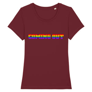 "T-shirt ""Coming Out LGBT"" 