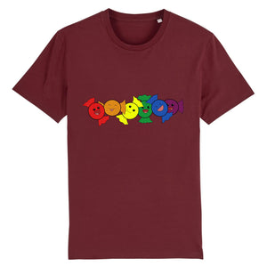 "T-shirt ""Bonbons LGBT"" 