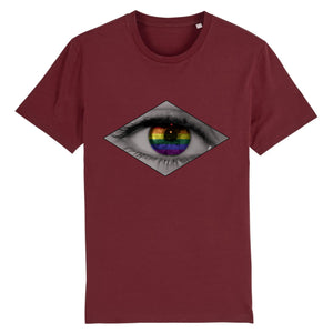 "T-shirt ""Oeil LGBT"" 