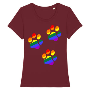 "T-shirt ""Patte de Chat LGBT"" 