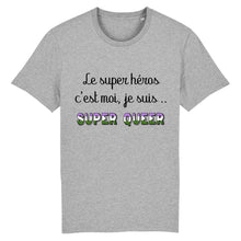 "Charger l'image dans la galerie, T-shirt ""Super Héros Queer"" 