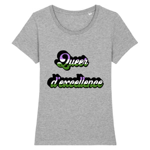 "T-shirt ""Queer D'excellence"" 