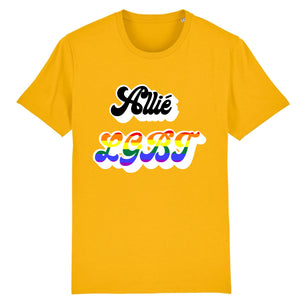 "T-shirt ""Allié LGBT"" 