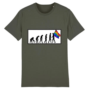 "T-shirt ""Evolution LGBT"" 