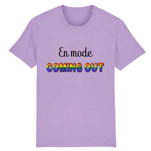"T-shirt ""En mode Coming Out"" 