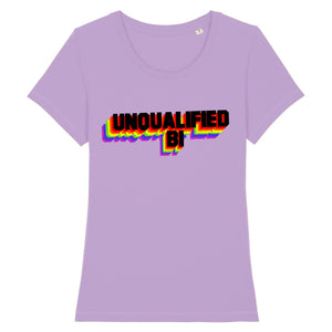 "T-shirt ""Unqualified Bi"" 