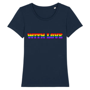 "T-shirt ""WITH LOVE LGBT"" 