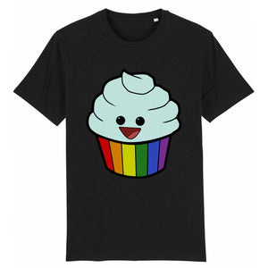 "T-shirt ""Cupcakes LGBT"" 
