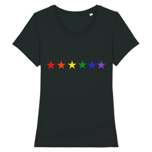 "T-shirt ""Etoiles LGBT"" 
