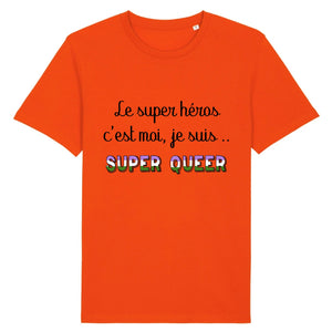 "T-shirt ""Super Héros Queer"" 